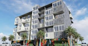 100 New Townhouses For Sale Melbourne Eau Gallie Apartment Tower May Use Shipping Containers