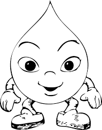 Water Drop Coloring Pages Printable Also Download For Free With Page