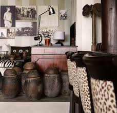 African Safari Themed Living Room by Interior Contemporary Living Room Decoration With Traditional