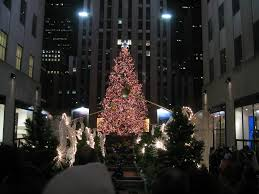 Rockefeller Plaza Christmas Tree 2014 by Christmas Tours The Spirited New Yorker The Spirited New Yorker