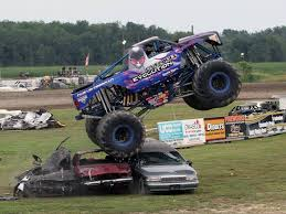 100 Monster Trucks Cleveland INQUINTECA Invade Brighton Speedway Saturday