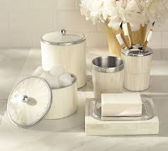 Pottery Barn Bathroom Accessories by Bone Inlay Bath Accessories Pottery Barn