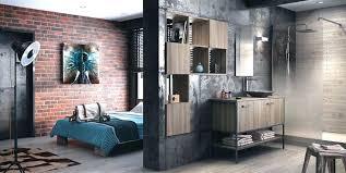 chambre style industrielle deco chambre industrielle decoration industrielle chambre 06 deco