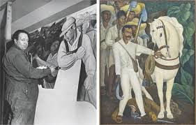 Diego Rivera Rockefeller Mural by The Painting On The Wall The New Yorker