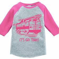 100 Fire Truck For Toddlers Its Go Time Kids Baseball Tee Free To Be Kids
