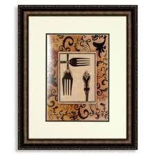 Wooden Fork And Spoon Wall Hanging by Buy Kitchen Wall Art From Bed Bath U0026 Beyond