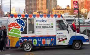 100 Big Worm Ice Cream Truck MetroPCS Shows Some Android And Sandwich Love Style