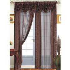 Priscilla Curtains With Attached Valance by Floral Sheer Curtains For Less Overstock Com