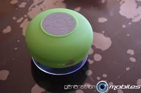 test du haut parleur bluetooth étanche et portatif de mobilefun