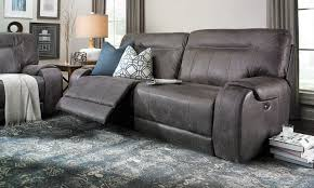 Thomasville Leather Sofa Recliner by Living Room Moreno Seater Sofa And Burgandy Leather Power
