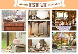 Fall Wedding Ideas Rustic Dessert Table Inspiration