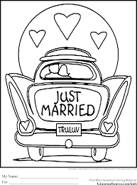 Amazing Wedding Coloring Pages 25 In Print With