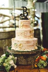 Country Themed Wedding Cake Toppers Best Images On Anniversary Dress Ideas Fall Inspired Three Tiered Cakes