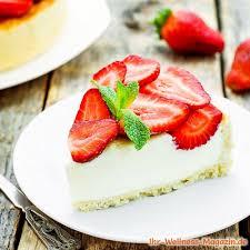 leichte low carb erdbeer joghurt torte rezept ohne zucker