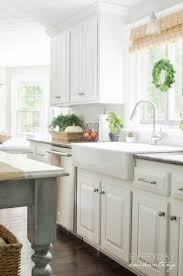 insl x cabinet coat colors kitchen faqs our painted oak cabinets two years later