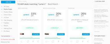 How To Use Dealspotr: Save Money And Make Money | SAHM, Plus... Latest Carters Coupon Codes September2019 Get 5070 Off Credit Card Coupon Code In Store Northern Threads Discount Giant Rshey Park Tickets Free Shipping Code No Minimum Home Facebook Beanstock Coffee Festival Promo Bedzonline Veri Usflagstore Com 10 Nootropics Depot Discount 7 Verified Cult Beauty Codes For February 122 Hotstar Flipkart Burpee Catalog Coupons Promo September 2019 20