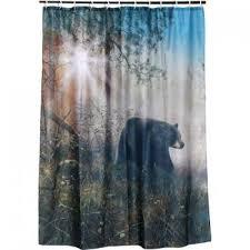 Rustic Shower Curtains Bathroom Decor bear decor Moose Decor
