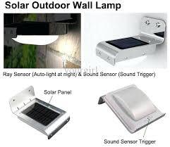 solar wall l modern finishing solar wall lights outdoor