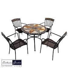 Europa Arlington 91cm Stone Patio Table With 4 Kingswood Steel Chairs  ZG/0ARLT9-04KNG0 Arlington End Table Ding Transitional Counter Height With Storage Cabinet By Fniture Of America At Rooms For Less Drop Leaf 2 Side Chairs Patio Ellington Single Pedestal 4 Intercon Black Java 18 Inch Gathering Slat Back Bar Stools Dinette Depot 6 Piece Trestle Set Bench Liberty Pilgrim City Rifes Home Store Northern Virginia Alexandria Fairfax