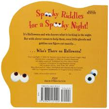 Halloween Riddles For Adults With Answers by Amazon Com Who U0027s There On Halloween 9780843105100 Susan Hagen