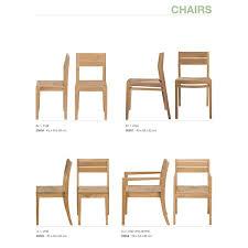 chaise en ch ne massif chaise chêne ethnicraft mise en scène