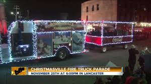 Christmasville Fire Truck Parade - WKBW.com Buffalo, NY Special Delivery 1940s Fire Truck Brought To Ghs News Ogdensburg Hosts Firemans Parade Inspection Sparta Nj Local Chanukah Fire Truck Parade 2015 Corner Of Fallsgrove Blvd And Antique On Vimeo In Raleigh Firetruck Is The New Trend For A Party Bus Abc11com Thessaloniki Greece October 28 2014 Stock Photo Edit Now Medic Clearwater Florida Deadline August 3 2016 Cvention Brings Mascots Motorcyclists More Annual Firemens Draws Large Crowd Franklin Hamburg Bedford Township Standing By Escort With Manchester Photos Wvphotos
