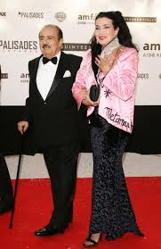 Saudi Entrepreneur And Arms Dealer Adnan Khashoggi With Wife Lamia In 2005 Pascal Le Segretain Getty Images