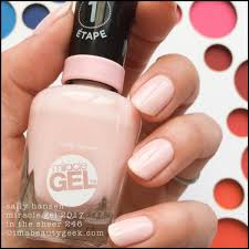 Best Gel Nail Colours 2018
