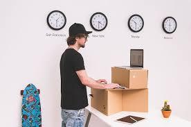Cardboard Standing Desks portable standing desk