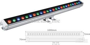 ip65 24w multicolors led wall washer light high power stage linear