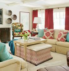 Living Room Curtain Ideas Beige Furniture by Red Curtains For Large Living Room Windows Homedcin Com