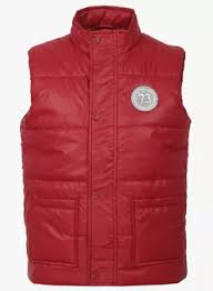 Red Pepe Jeans Winter Wear For Kids