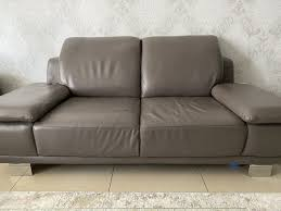 echt leder sofa in cappuccino farbe in 90763 fürth für 800