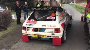 Peugeot 205 TURBO 16 EVO 2 start TAC Rally BRC 2016