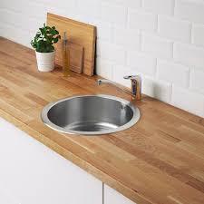 boholmen inset sink 1 bowl stainless steel ikea