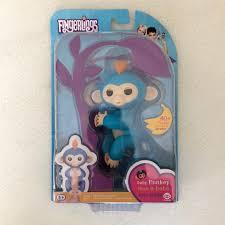 Blue Fingerling Monkey New In Box