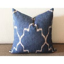 18x18 pillow cover blue pillow modern blue pillow simple modern