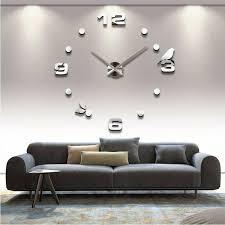 wanduhr wohnzimmer wandtattoo design vogel deko 3d ebay