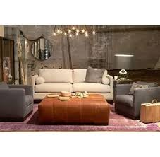 Cisco Brothers Sofa Cover by Rectangular Ottoman With Tufted Seams Love The Camel Leather