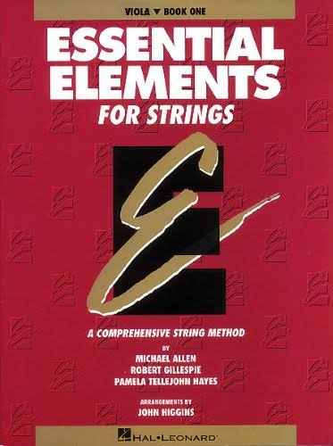 Essential Elements for Strings: Viola Book 1 - Hal Leonard
