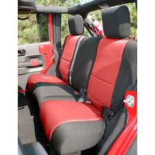 Rugged Ridge 13265.53 Wrangler JK Rear Seat Cover Neoprene Black ...