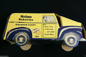 Vintage Helms Bakeries Bread Paper Truck Car Cardboard | Dolls And ... 1936 Divco Helms Bread Truck S216 Anaheim 2015 1934 Twin Coach Bakery Truck For Sale Classiccarscom Cc Man 1967 Shorpy Vintage Photography Photo Taken At The San Juan Capistrano Flickr For Orignal 1933 Cruzn Roses Car Show Rais 3 Photographed Usa Wo Wikipedia Bakeries Paper Car Cboard Dolls And 1961 Chevy Panel The Hamb Designs Bakery Van Stored