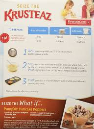 Ihop Pumpkin Pancakes Release by Amazon Com Krusteaz Pumpkin Spice Pancake Mix Muffin Mixes