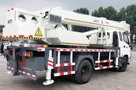 China Used Electric Pickup Mini 12 Ton Truck Crane Manufacturers And ...