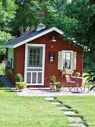 Storage Sheds Leland Nc by Cute Garden Shed With Wrap Around Porch She Shed Pinterest