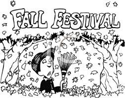 Festival clipart black and white 7