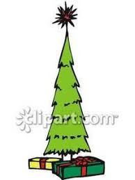 28 Collection Of Skinny Christmas Tree Clipart