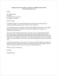 Brilliant Ideas of Example A Placement Cover Letter Letter