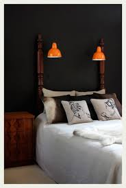 Again The Gorgeous Idea Of Using Hanging Lights Instead Nightstand Lamps