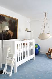 Quirky Parisian Baby Nursery